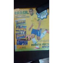 Atualização Album Copa Das Confederações 9 Figurinhas Poster