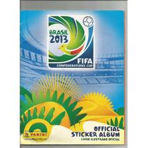 Album Copa Confederações Incompleto 2013 - 80 Coladas 22.00
