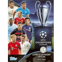 Figurinhas Avulsas Uefa Champions League 2015-2016 Futebol