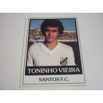 Toninho Vieira - Ping Pong Futebol Cards - Nº 278 - Santos
