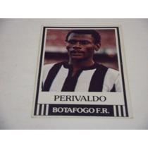 Perivaldo - Ping Pong Futebol Cards - Nº 143 - Botafogo