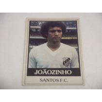 Joãozinho - Ping Pong Futebol Cards - Nº 96 - Santos