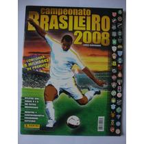 Álbum De Figurinhas Campeonato Brasileiro 2008 Incompleto