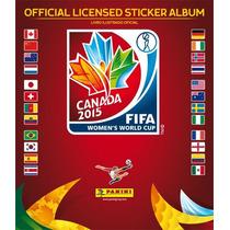 Album Vazio Mundial Copa Mulheres 2015 + 100 Figurinhas