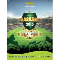 Álbum Campeonato Brasileiro 2015 Completo Figurinhas Soltas