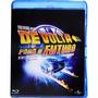 Blu-ray Trilogia De Volta Para O Futuro - Dublado - Lacrado