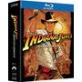Coleção Indiana Jones - Box Blu Ray 4 Filmes, Dublado, Lacra