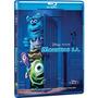Monstros S.a. - Blu-ray Duplo - John Goodman - Billy Crystal
