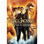 Dvd Percy Jackson E O Mar De Monstros + Pôster De Locadora