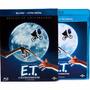 Blu Ray E.t. O Extraterrestre Super Combo Cópia Digital Luva