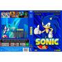 Coleção Exclusiva Serie Do Sonic Desenhos 6 Dvds Dublados