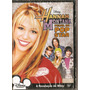Dvd Hannah Montana - Perfil De Pop Star - Novo***