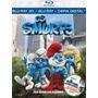 Blu Ray Smurfs, Os + Conto De Natal (combo) Blu-ray 3d (blu