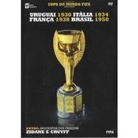 Dvd - Uruguai 30 - Brasil 50 Copa Do Mundo Fifa 1930 - 2006