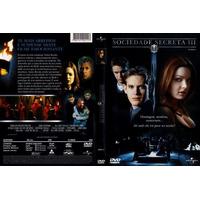 Dvd Sociedade Secreta 3 Filme De J. Miles Dale