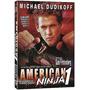 Dvd Guerreiro Americano Ninja 1 ( Dublado ) Frete Grátis