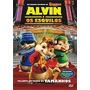 Dvd - Alvin E Os Esquilos - Animação - Novo