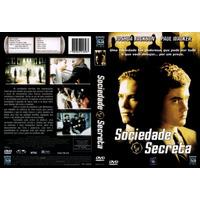 Dvd Sociedade Secreta, Paul Walker, Original Lacrado