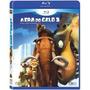 Blu Ray Disney A Era Do Gelo 1 2 E 3 - 3 Filmes Orig. Novo