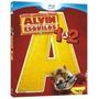 Alvin E Os Esquilos 1 & 2 - Blu Ray 2 Filmes, Dublado,c/luva