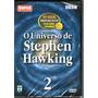 Dvd O Universo De Stephen Hawking Vol 2 - Novo Lacrado Raro