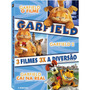 Box Dvd Trilogia Garfield - 3 Filmes 3 Dvds - Novo Lacrado!