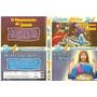 Dvd - Desenho Biblico - 0 Nascimento E Os Milagres De Jesus.