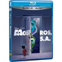 Blu-ray 3d + 2d : Monstros S.a - Duplo - Novo E Original