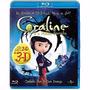 Bluray Coraline E O Mundo Secreto 2d E 3d Lacrado