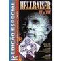Dvd - Hellraiser - I I E I I I - Edição Especial - Lacrado