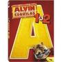 Dvd - Alvin E Os Esquilos - 1 E 2 - Duplo E Lacrado