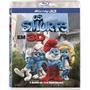Blu-ray Os Smurfs 3d Lacrado.