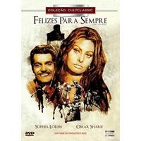Felizes Para Sempre Dvd Novo Orig Lacrado Sophia Loren Omar