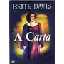 Dvd - A Carta - ( The Letter )