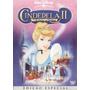 Dvd Cinderela 2 - Os Sonhos Se Realizam - Disney - Raro