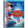 Dvd Pinóquio - Ed 70o Aniversário Ed Platinum + Luva Externa