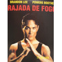 Dvd - Rajada De Fogo - Brandon Lee