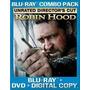 Blu-ray Robin Hood - Unrated Directors Cut + Luva Externa