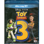 Blu-ray 3d Tou Story 3 - Novo***