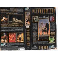 Vhs + Dvd, Necronomicon ( Raro) - Livro Proibido Dos Mortos