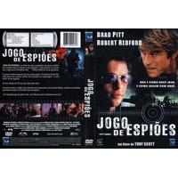 Dvd Jogo De Espiões, Brad Pitt, Robert Redford, Aventura