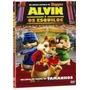 Coleção Dvds Originais Alvin E Os Esquilos 1, 2 E 3