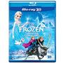 Filme Frozen Uma Aventura Congelante 3d Blu Ray