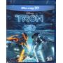 Blu-ray Tron O Legado 3d Original Br Lacrado Disney 7.1