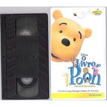 Fita Vhs O Livro Do Pooh Ió Histórias Do Coração