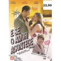 Dvd Filme - E Se O Amor Acontece (dublado/legendado/lacrado)