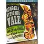Dvd Original Do Filme Como Era Verde Meu Vale