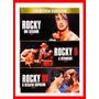 Dvd Triplo Rocky 1 2 E 3 Sylvester Stallone Frete Grátis!