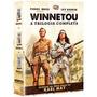 Box Trilogia Winnetou Dvd Novo Orig Lacrado Faroeste Western