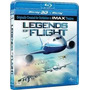 Blu-ray 3d + 2d Legends Of Flight - Lendas De Vôo - Dublado